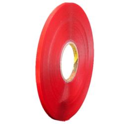 Oboustranná lepicí páska 3M 9x0,5 mm 66 m čirá VHB Clear (podklad PE fólie)