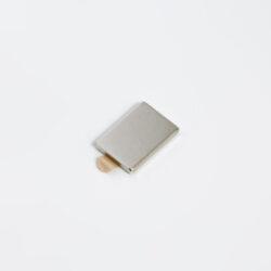 Magnetický úchyt, 10x14x1,5mm, 5 párů, set-Magnetický úchyt pro upevnění profilů ke kovovým materiálům (např. regálům).