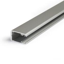 Profil WIRELI MIKRO-LINE12 J/ na sklo 8 mm stříbrný elox, 3m (metráž)