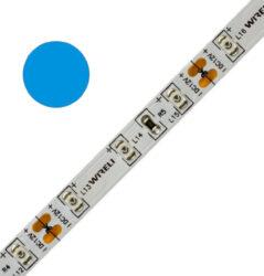 Color LED pásek WIRELI 2835  98 470nm 15W 0,625A 24V (modrá)-Standardní barevný LED pásek s větším výkonem.