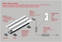 LED liniové osvětlení - sestava-Nejsme jen pouhými obchodníky, ale disponujeme rovněž vlastní elektromechanickou výrobou